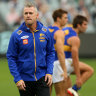 West Coast shed staff, players twiddle thumbs at home amid AFL impasse