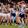 'Arrogance': Blind Citizens Australia calls on AFL to fix jumper-clashes amid Pies-Geelong debacle