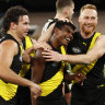 Tigers purr in second half to keep finals hopes alive