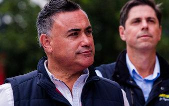 NSW National Party leader John Barilaro.