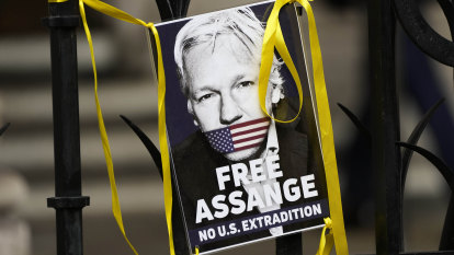 Unwell Julian Assange briefly attends court as US presses for extradition