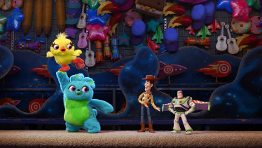 Disney's purchase of 21st Century Fox in March has created its own pall of gloom. Pictured is a scene from Toy Story 4.