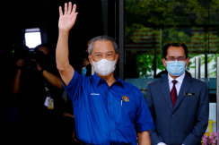 Prime Minister Muhyiddin Yassin has not had to face parliament since January due to Malaysia's state of emergency.