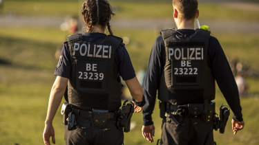 Police arrested four people suspected of planning a terrorist attack in Germany.