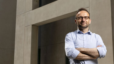 Greens leader Adam Bandt formally laid out a policy for net zero emissions by 2035.