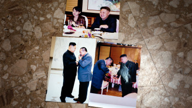 Kim Jong-un's former sushi chef Kenji Fujimoto meets with him again after moving to South Korea.