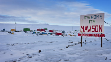 Mawson Station is one of three Australian bases in Antarctica.
