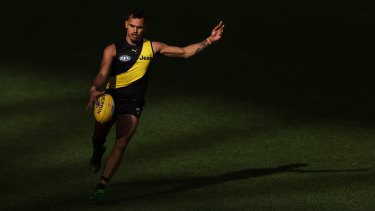 Sydney Stack had 25 touches against the Dockers.