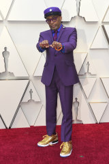 Spike Lee at the Oscars.