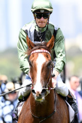 Mark Zahra and Kings Will Dream after winning at Flemington last year.