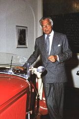 Richard remains inspired by Gianni Agnelli's style, which comfortably fused business and leisure.