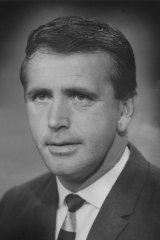 Commentator Mike Williamson, pictured here in 1970.