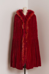 A 1922 Chanel cape that will be part of a new exhibition of the designer's work.
