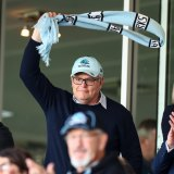 The PM loves rugby league and the Cronulla Sharks.