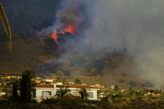 A volcano on Spain's Atlantic Ocean island of La Palma erupted on Sunday after a week-long build-up of seismic activity.