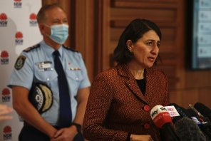 NSW Premier Gladys Berejiklian says her state has carried the load of the nation during the pandemic.