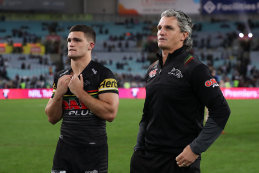 Nathan and Ivan Cleary look destined to be heading to another Grand Final.