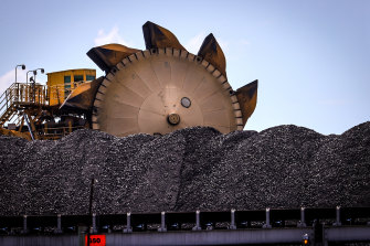 The Port of Newcastle has been seeking to diversify away from coal exports.