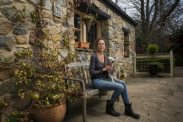 Julia deVille calls her new home ''a fairytale house''.
