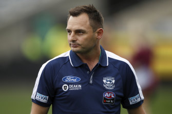 Cats coach Paul Hood has floated the idea of a 25-metre penalty to be awarded at the umpires' discretion.