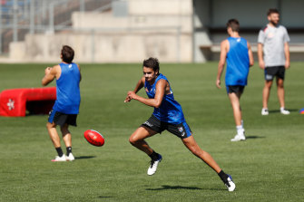 Jamarra Ugle-Hagan still faces obstacles in his bid for an AFL debut.