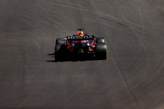 Max Verstappen had the fastest lap but it did not stand.