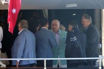 Alan Jones chats with guests including former rugby league player Craig Wing and Mark Latham.