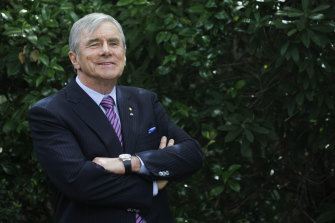 Billionaire Kerry Stokes announced he would step down as the chairman of Seven Group Holdings in November, but remain as an adviser. He will also stay as chairman of Seven West Media.