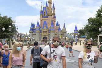 The NBA will play the rest of its season at Disney World, Florida, which re-opened in mid July.