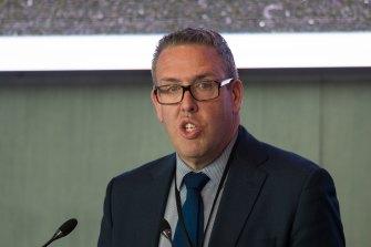 Liberal Party state director Sam McQuestin.