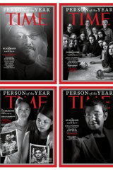 Time will honour their Person of the Year over four magazine covers.