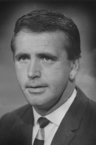 Commentator Mike Williamson, pictured in 1970.
