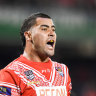 Crossing picket line won't endear Folau to striking Tonga players