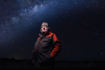 Astronomer, Professor Graeme White.