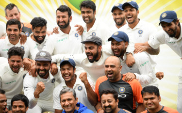 Trailblazers: 'Our vision is to make kids realise that there is no greater passion than playing Test cricket', says Virat Kohli.