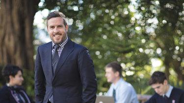Nick Jolly, director of academics and IB diploma co-ordinator at Sydney's Cranbrook School.