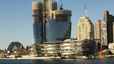 Crown's casino in Barangaroo was supported by then-Premier Barry O'Farrell.
