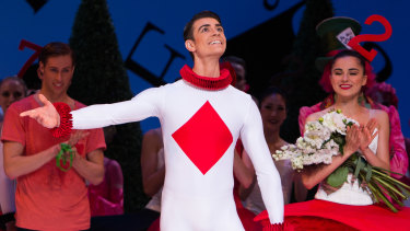 Ballet dancer Jake Mangakahia wins theTelstra Ballet People's Choice Award in Sydney.