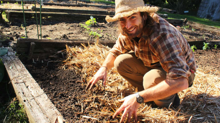 James Blyth said people should just experiment to see what works in their garden.