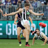 Deja vu doesn't mean it's all over again for Collingwood's Josh Thomas
