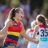 Crows keep flag defence on track with comeback win over Saints