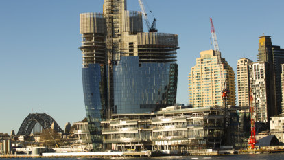 'Excessive': Concerns over extra car parks at Crown's Barangaroo casino