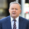 'It's not up to government, it's markets': Albanese takes swipe at anti-Adani activists