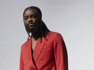 Genesis Owusu has earned six ARIA nominations for his acclaimed album Smiling with No Teeth.