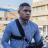 Manly star Fainu hit with three charges, refused bail over church brawl