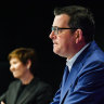 Premier Daniel Andrews pleaded with Victorians to get tested and not go to work while sick.