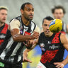 'This is not OK': Magpies take stand for Varcoe
