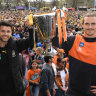 'The real Giants': GWS originals tackle final frontier