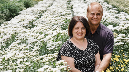 Why award-winning flower grower Aldo Vumbaca attributes his success to his wife Joanna