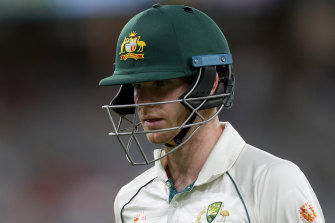 Steve Smith has failed to fire with the bat since his Ashes heroics earlier this year.